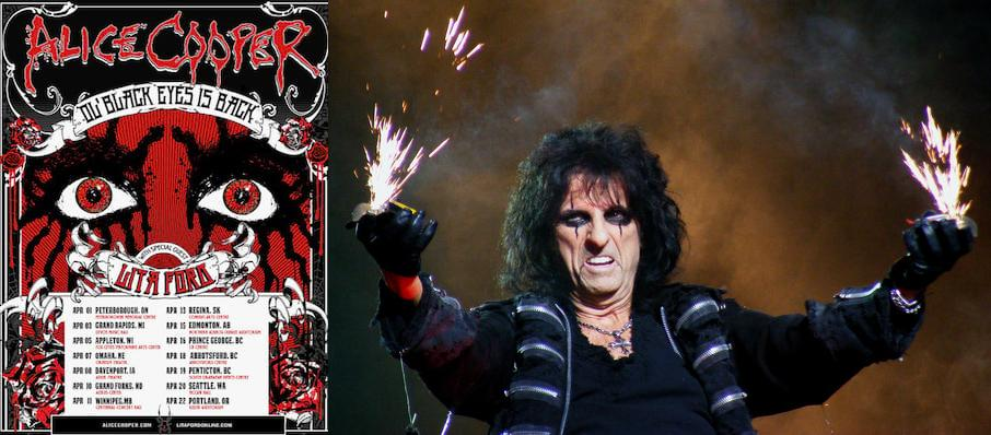 Alice Cooper at Mohegan Sun Arena