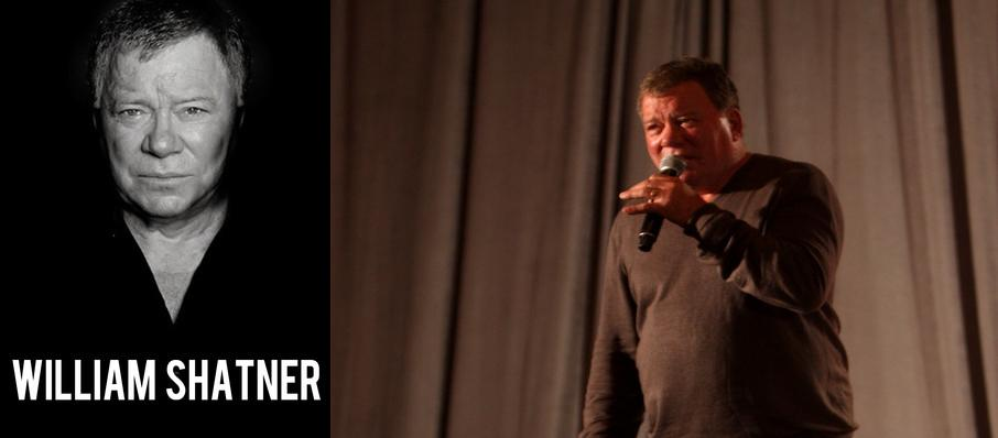 William Shatner at Kirby Center for the Performing Arts