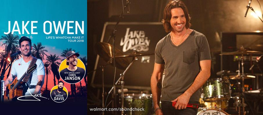 Jake Owen at Kirby Center for the Performing Arts