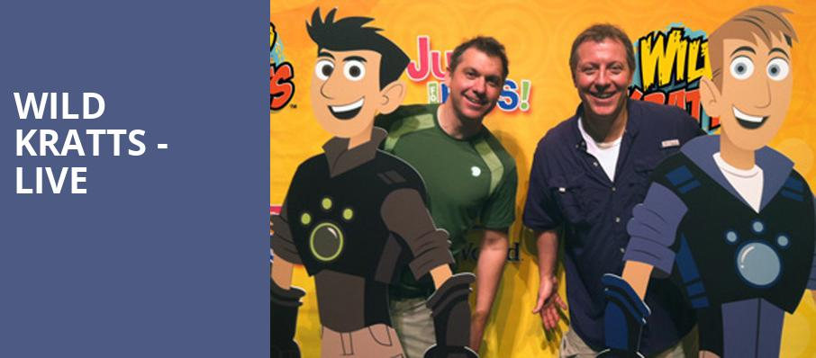 Wild Kratts Live, Kirby Center for the Performing Arts, Wilkes Barre