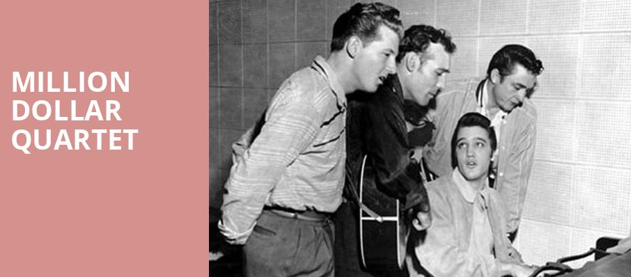 Million Dollar Quartet, Kirby Center for the Performing Arts, Wilkes Barre